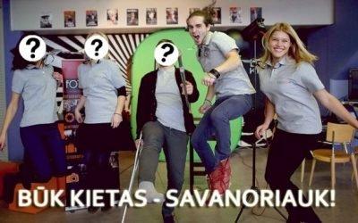 """Fotofestivalis """"KLIK"""" ieško savanorių!"""