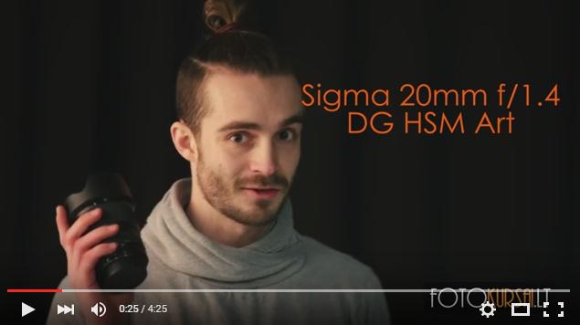 Sigma 20mm f/1.4 DG HSM Art apžvalga