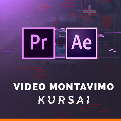 Video redagavimo mokymai