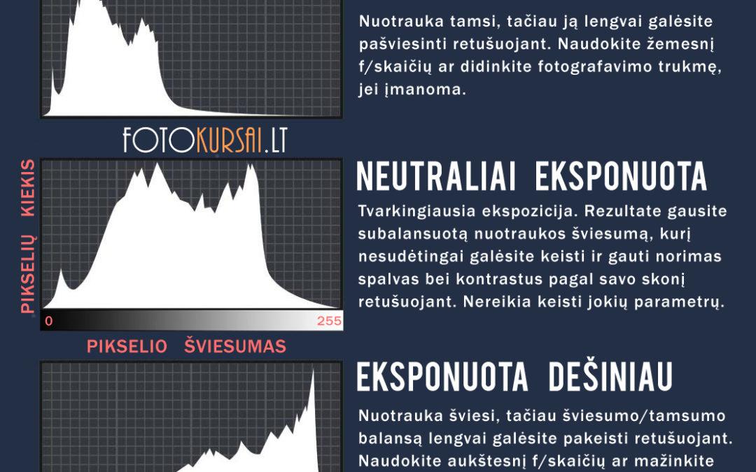 Kaip suprasti histogramą?