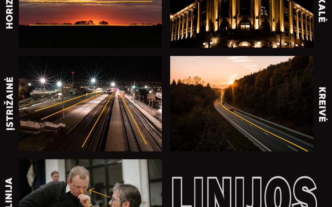 Linijos nuotraukose